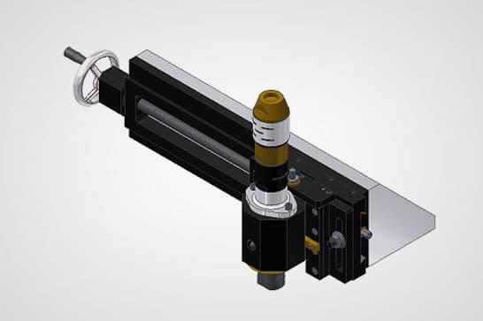 2-Axis Portable Milling Rail