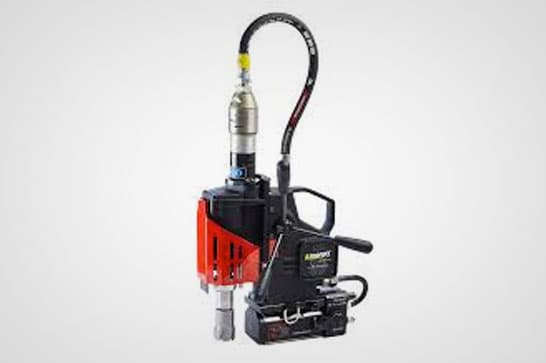 Pneumatic Magnetic Base Drill