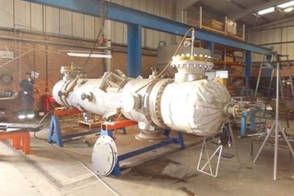 Seawater Heater Repair