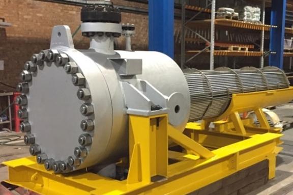 Refurbishment of E6 Gas Cooler