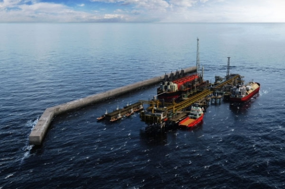 Two Pressure Vessels For BP's New Tortue Project